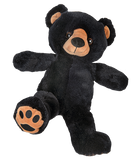 "*NEW* Jr the Black Bear  8"" l'ours noir"