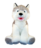 Wolf husky Stuff your own teddy bear kit