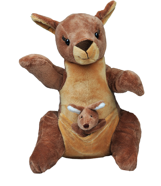 Kangaroo Stuff your own teddy bear kit