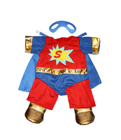 """Superbear"" outfit with mask 16"""