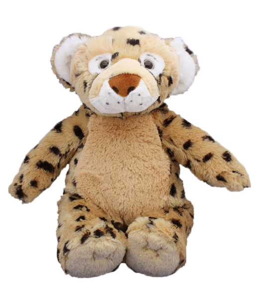 Leopard Stuff your own teddy bear kit