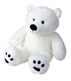 "Paws the Polar Bear 8"" l'ours polaire"