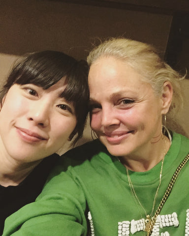 Jennifer and Kayoko