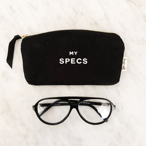 Specs Black Glasses Case - Bag-all