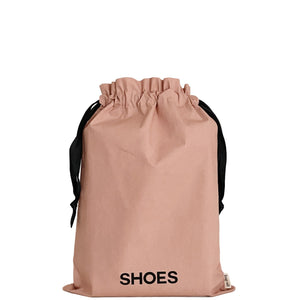 Shoe bag for travel and organizing.