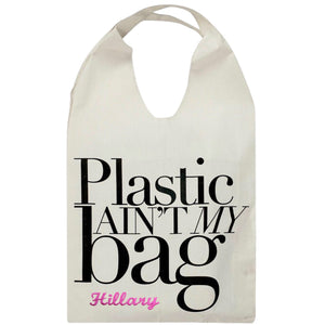 Plastic Ain't My Bag Tote Bag - Bag-all