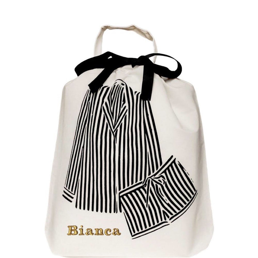 Striped Pajamas Bag - Bag-all