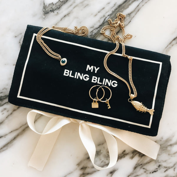 Jewelry Case Bling Bling Black - Bag-all