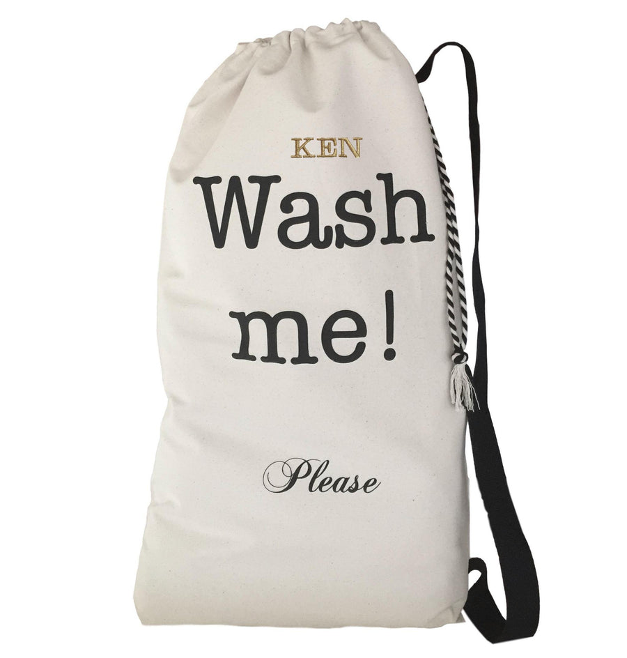 NYC Wash Me Laundry Bag - New Yorker Style to Carry Laundry