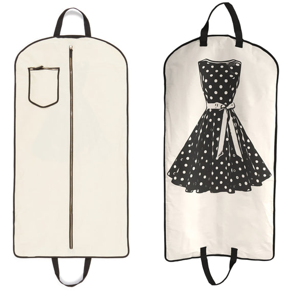 Polkadot Garment Bag - Bag-all