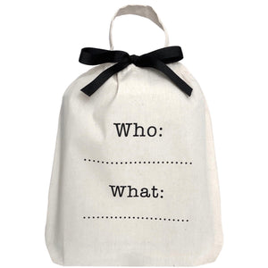 Who: What: Bag - Bag-all