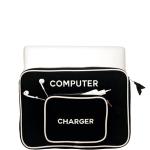 Computer Case Black Small - Bag-all