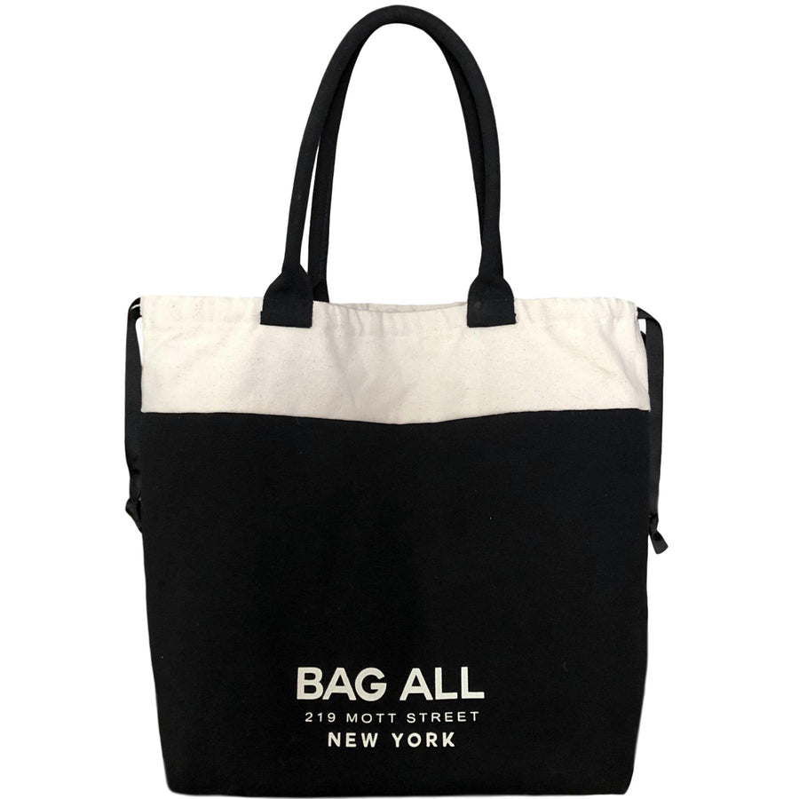 World Traveler Tote Bag Black - Bag-all
