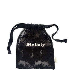 Lace Bag - Large Black - Bag-all