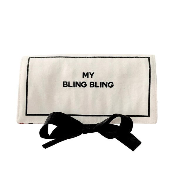 My bling bling jewelry case in white.