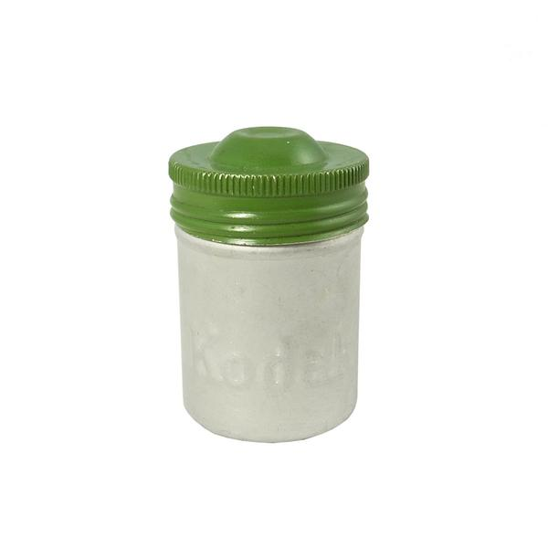 Vintage Film Canister (Green/Silver)
