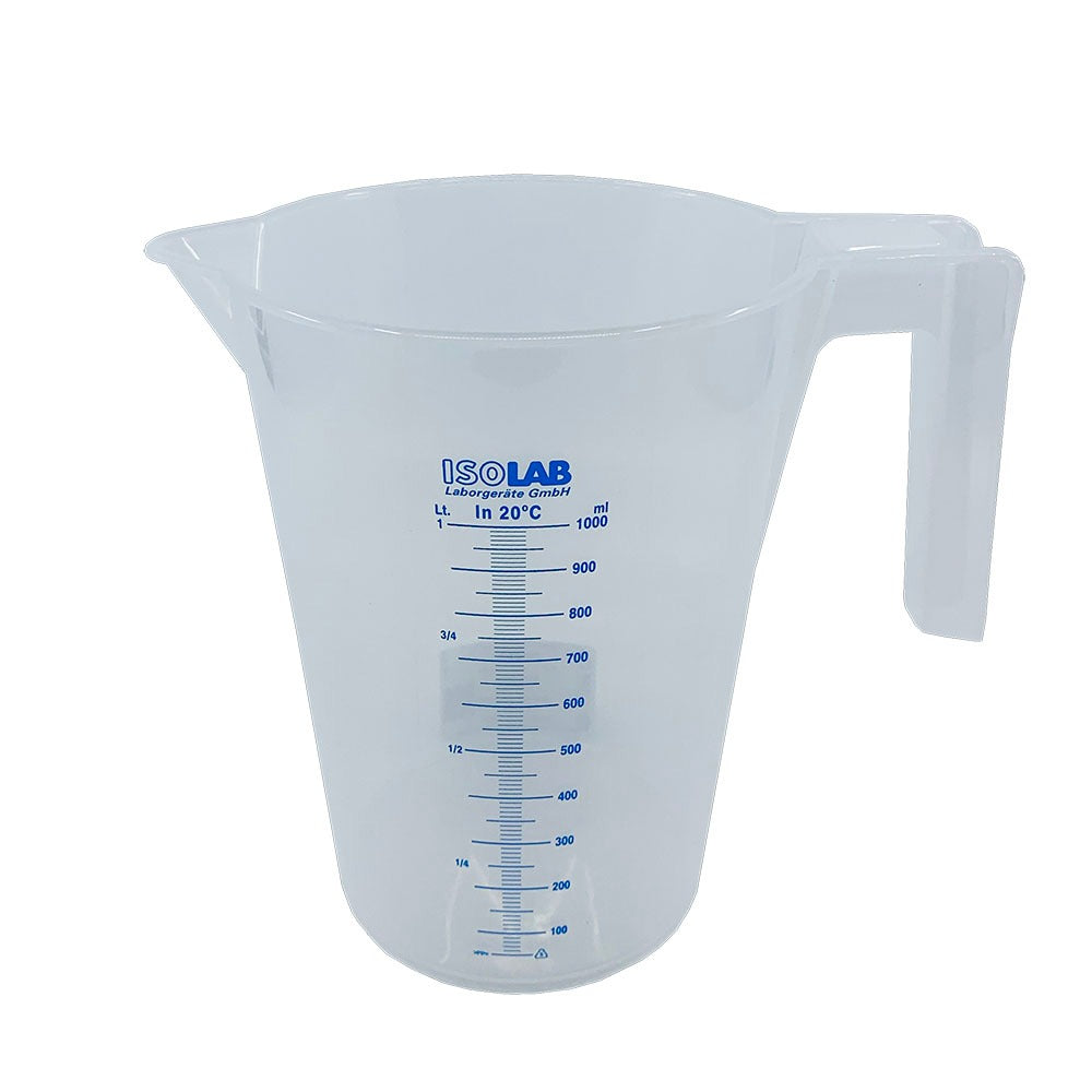 ISOLAB PP Beaker 1L (blue scale)