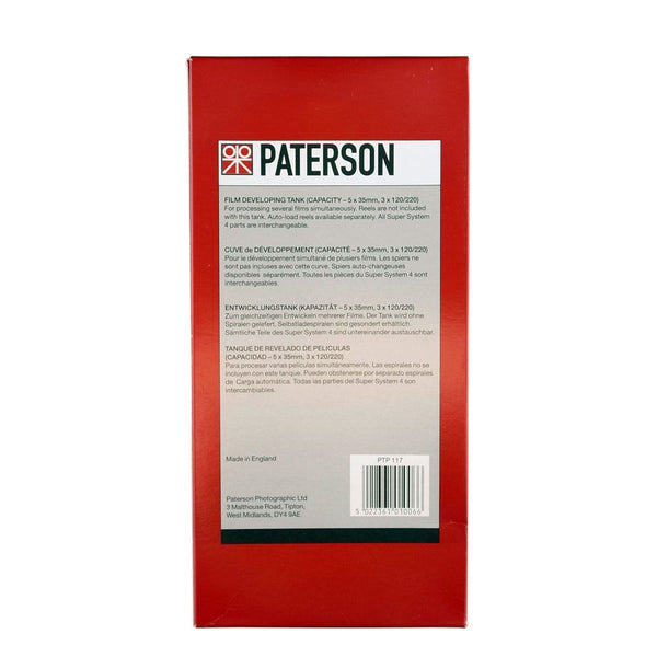 Paterson Super System 4 Universal Developing Tank Multi Reel 5 without reels