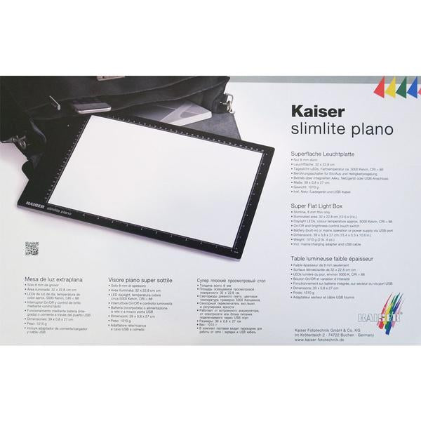 Kaiser Silmlite Plano LED Light Box