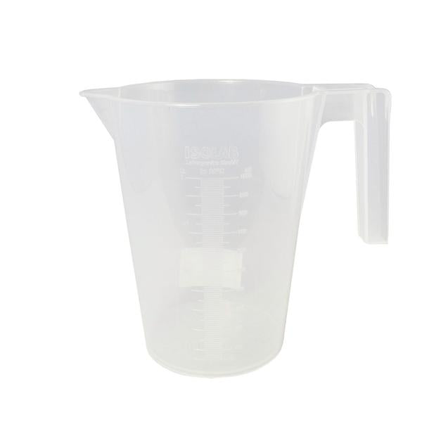 ISOLAB PP Beaker 1L (embossed scale)