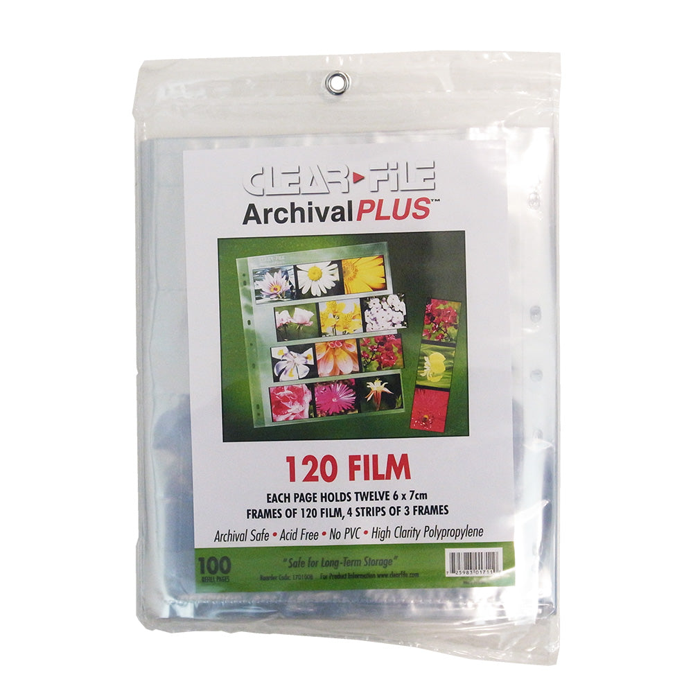 ClearFile 6x7 Negative Sleeves (100 Sheets)
