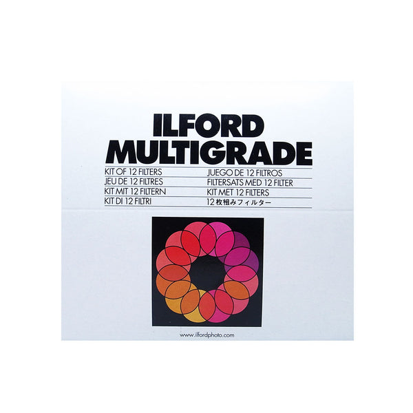 ILFORD Multigrade Filters - Kit of 12 Filters