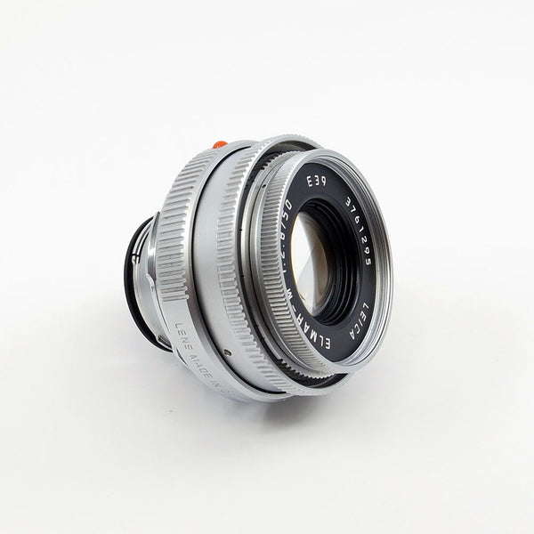 Leica Elmar-M 50mm f/2.8 (Silver Chrome)