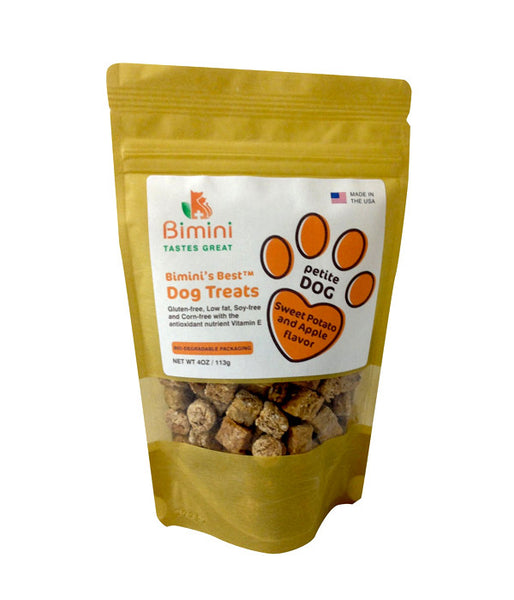 Bimini's Best Petite Dog Sweet Potato/Apple Flavor Treat
