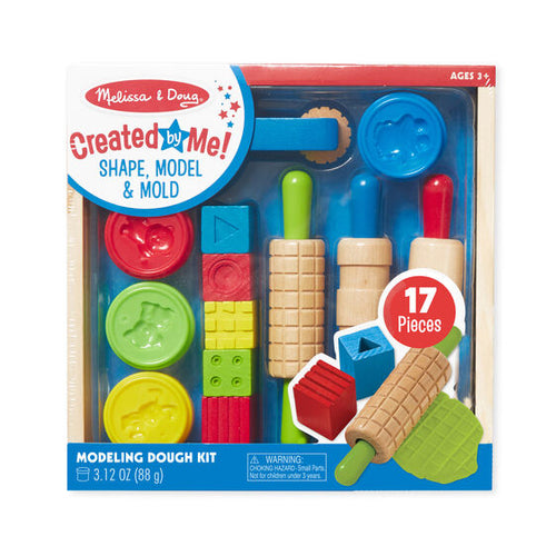 Shape, Model & Mould - Play Dough Kit - Melissa & Doug