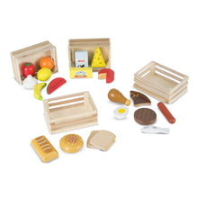 Load image into Gallery viewer, Wooden Food Group Set - Melissa & Doug