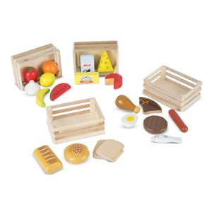 Wooden Food Group Set - Melissa & Doug