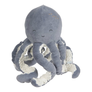 Cuddly Toy Octopus - Ocean Blue - Little Dutch