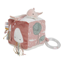 Load image into Gallery viewer, Soft Activity Cube - Ocean Pink - Little Dutch