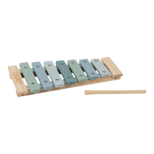 Load image into Gallery viewer, Wooden Xylophone - Blue - Little Dutch