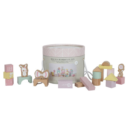 Adventure Building Blocks - Pink - Little Dutch