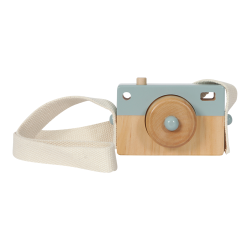 Wooden Toy Camera - Blue - Little Dutch