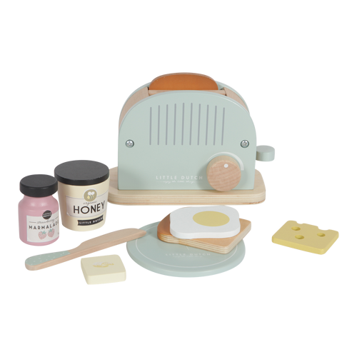 Wooden Toaster Set - Little Dutch