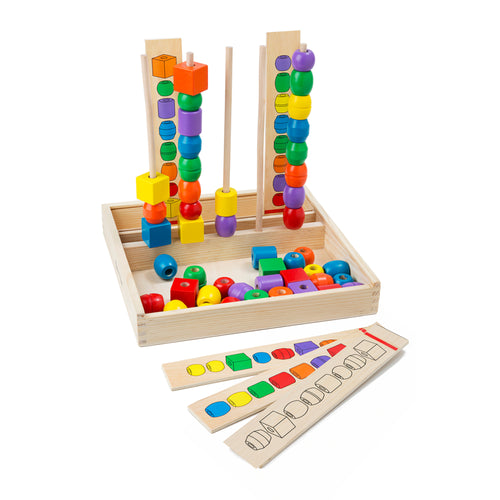 Bead Sequencing Set - Classic Toy - Melissa & Doug