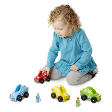 Load image into Gallery viewer, Race Car Vehicle Set - Melissa & Doug