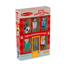 Load image into Gallery viewer, Wooden Flexible Dolls - Careers - Melissa & Doug