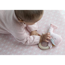 Load image into Gallery viewer, Whale Ring Rattle - Ocean Pink - Little Dutch