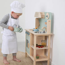 Load image into Gallery viewer, Wooden Play Kitchen - Mint - Little Dutch
