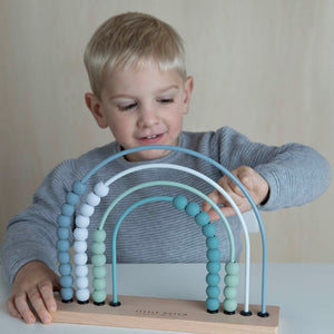 Rainbow Abacus Blue - Little Dutch