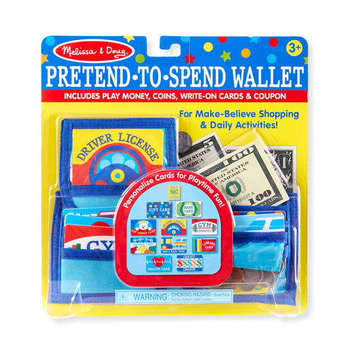 Pretend-to-Spend Wallet - Melissa & Doug