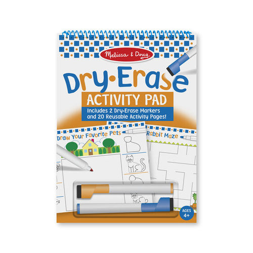 Dry Erase Activity Pad - Melissa & Doug