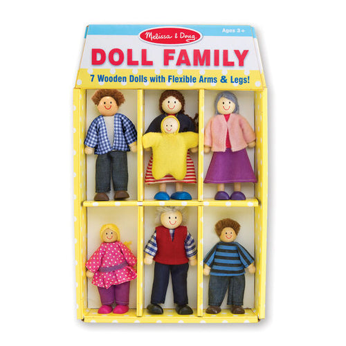 Wooden Doll Family - Melissa & Doug