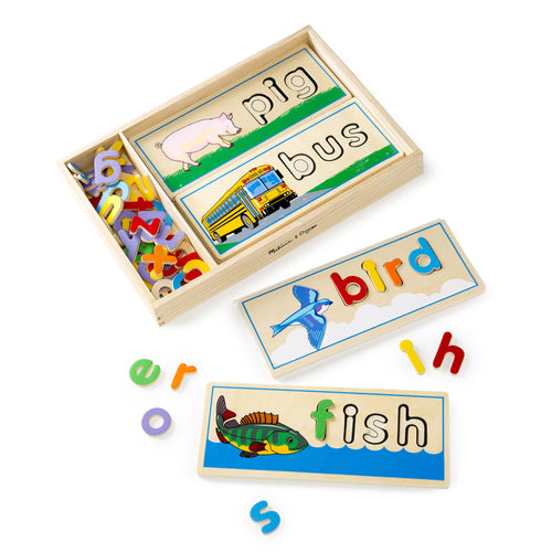 See & Spell Learning toy - Melissa & Doug