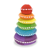 Load image into Gallery viewer, Plush Rainbow Stacker - Melissa & Doug
