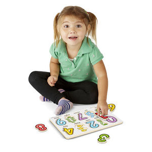 See-inside Numbers Peg - Melissa & Doug