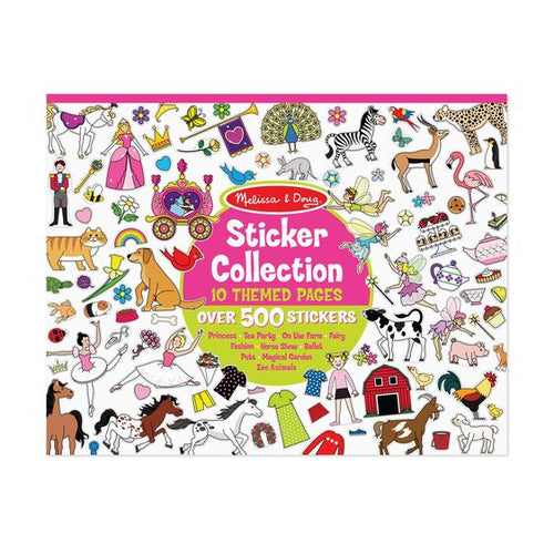500 + Sticker Collection - Pink - Melissa & Doug